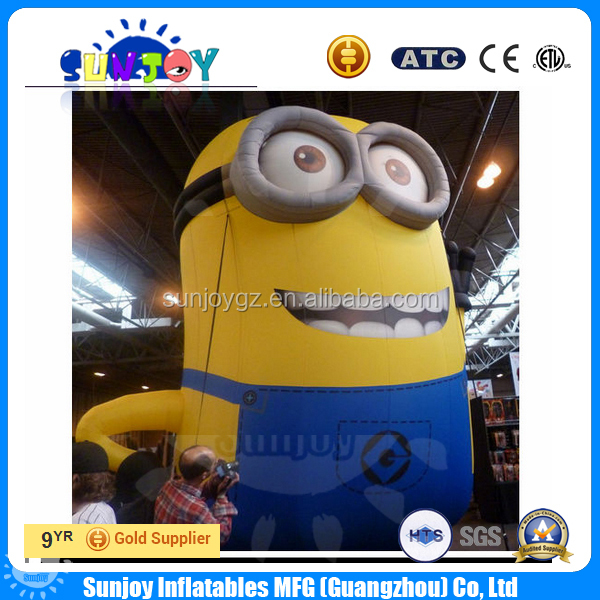 Commercail Inflatable Cartoon Minion Advertising Inflatables Model Mascot Custom Inflatables