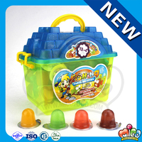 Cartoon Fishing Toolbox Mix Fruit Jelly Candy