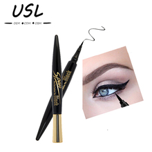 COOL BLACK!NOVO High quality 24 hours is not blooming Silky Collagen eyeliner pencil