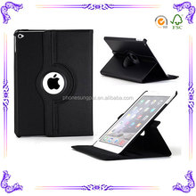 360 degree rotate Auto sleep function For ipad mini 4 case leather for ipad case
