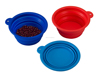 2015 Hot Selling Foldable Silicone Pet Travel Bowl