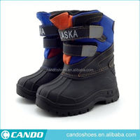 2014 Popular Kids School New Design Leahter Military Boots