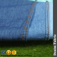 100% cotton light weight no slub twill denim fabric