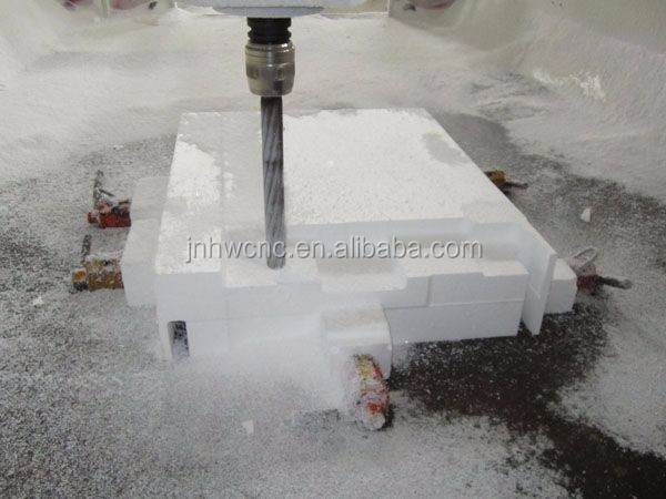 Multifunction Rotary Styrofoam Cutting Engraving CNC Router Machinery