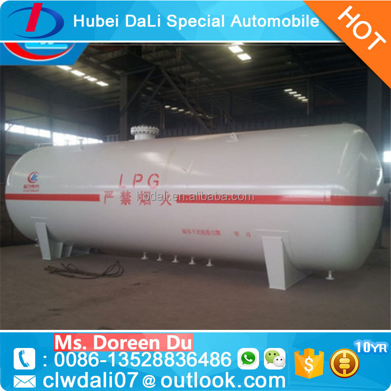 Asme standard 20cbm 30cbm 50cbm used lpg gas storage tank low price lpg gas tank for lpg skid station