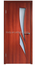 modern bathroom decorative design MDF wooden door