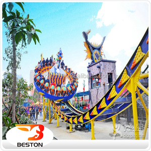 Alibaba China supplier high quality 16 seats Flying Disco Rides Mega Disk'O amusement rides