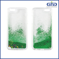 Hot Selling Quicksand Bling Glitter Star Mobile Phone Case for Apple for iPhone 6