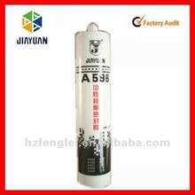 Glass metal glue, fireproof silicone sealant