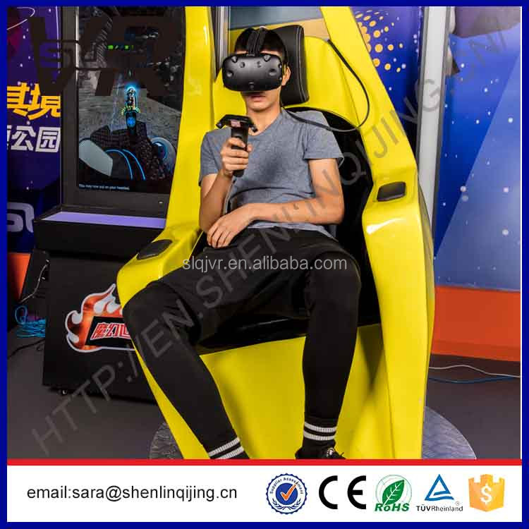 indoor amusement park equipment 9d vr simulator HTC VIVE rider