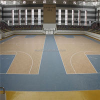 Very good at 6.5mm above product of anti-slip used sport court flooring