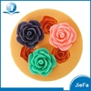 Factory Direct Sales All Kinds of Flower Shape Silicone Cupcake Mold