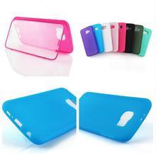 Newest Slim Touch Screen Flip TPU Wrap Up Smart Phone Cover Case for Samsung Galaxy S6