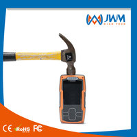 Orange ABS plastic body rugged security patrol verification device with camera+phone call+inductive gold plating USB