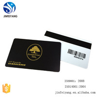 High Quality Printable Plastic PVC Blank Gift Card