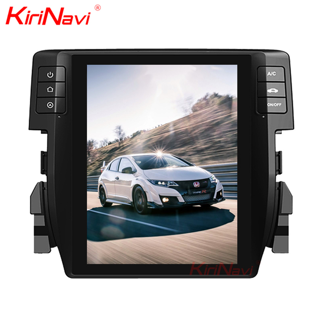 Kirinavi WC-HC1016 10.4 inch Vertical screen android 6.0 car radio for Honda Civic 2016 2017 car navigation 2G 32G ROM BT WIFI