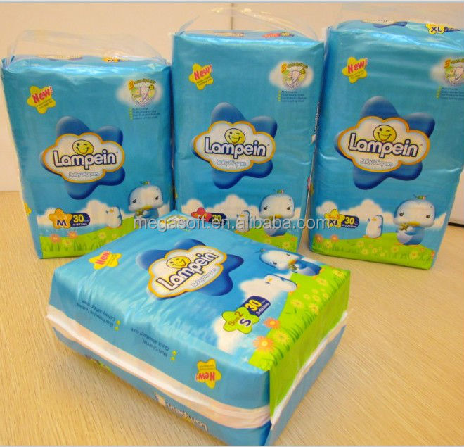 Hot Sale Lampein Baby Diapers factory
