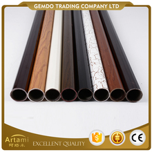 High quality mordern fashion Iron and plastic decorative curtain rod