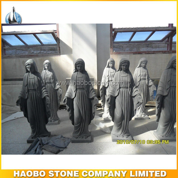 High Quality Life Size Garden Granite Stone Angel Statue