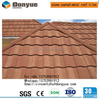 6 waves Cheap stone coated metal roof tile/ asphalt roofing shingle /insulated panels for