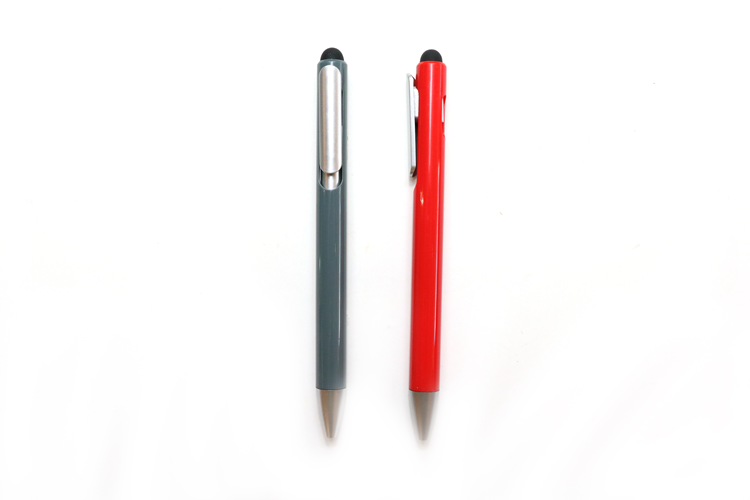 2018 New Style Promotional Plastic Stylus Screen Touch Ball Pen