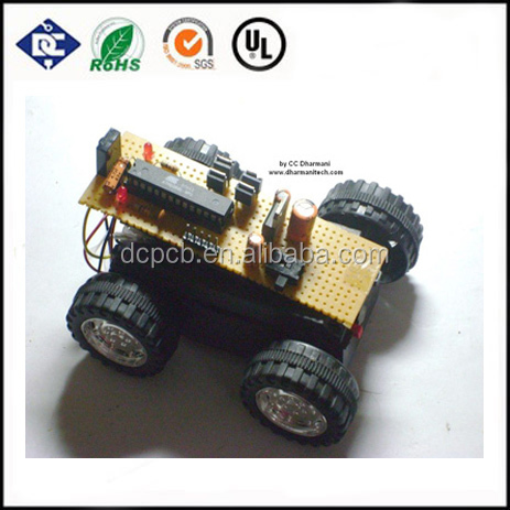 toy remote control car pcb pcba ,high quality pcb with low cost