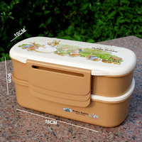 Eco-Friendly Promotional Reusing Back to School Lunch Boxes with Lid