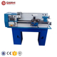 mini metal lathe machine China 750W semi automatic small metal lathes for sale