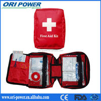 OP HOt Sell FDA CE ISO approved promotion small personal PVC waterproof first aid kit bag family first aid bag