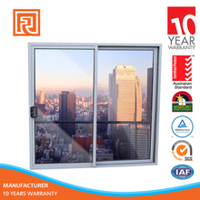 sliding door aluminium frame with insulated double glass