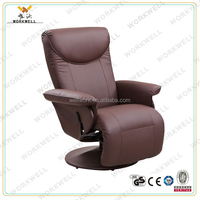 WorkWell modern comfortable leather vibrating recliner chair kw-R14A