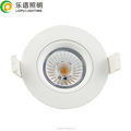 95Ra Smart Plus IP44 LED COB Downlight 360 deg GYRO 9w dim warm 2000k-3000k