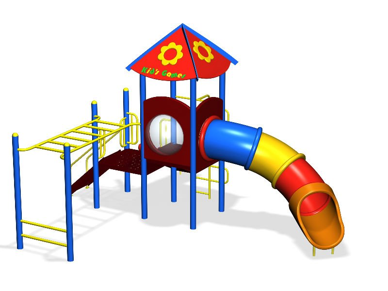 Children Playground Equipment Kids Zone