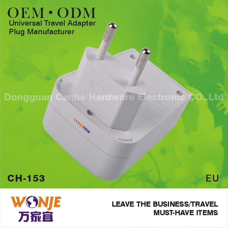 OEM&ODM factory made energy saving plug with led indicator