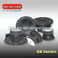 high quality car audio china subwoofer speaker 12 inch 88 db subwoofer from jld audio