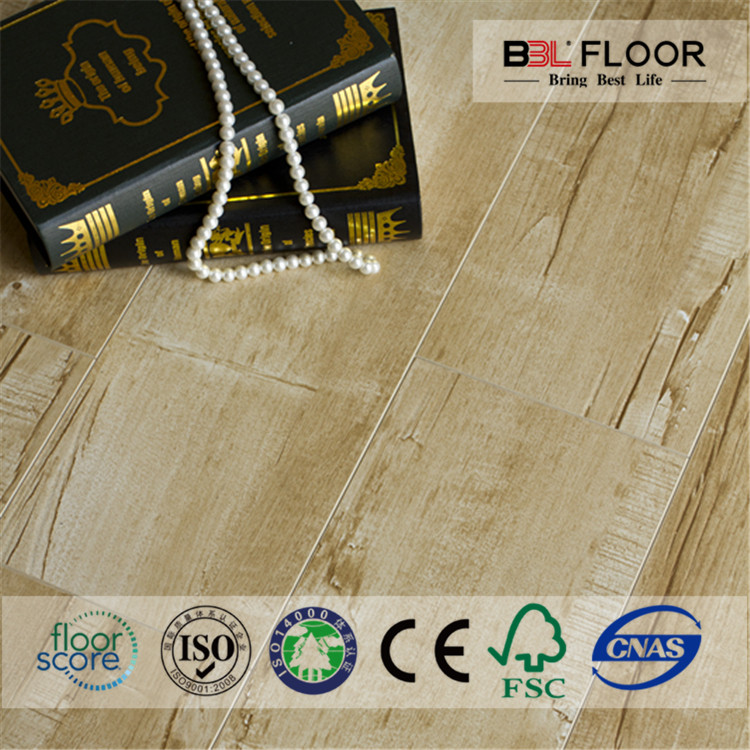 efficient insulation laminated wooden glossy flooring acoustic panel