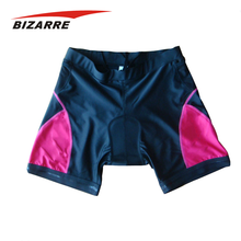 Custom made sublimated women bike shorts
