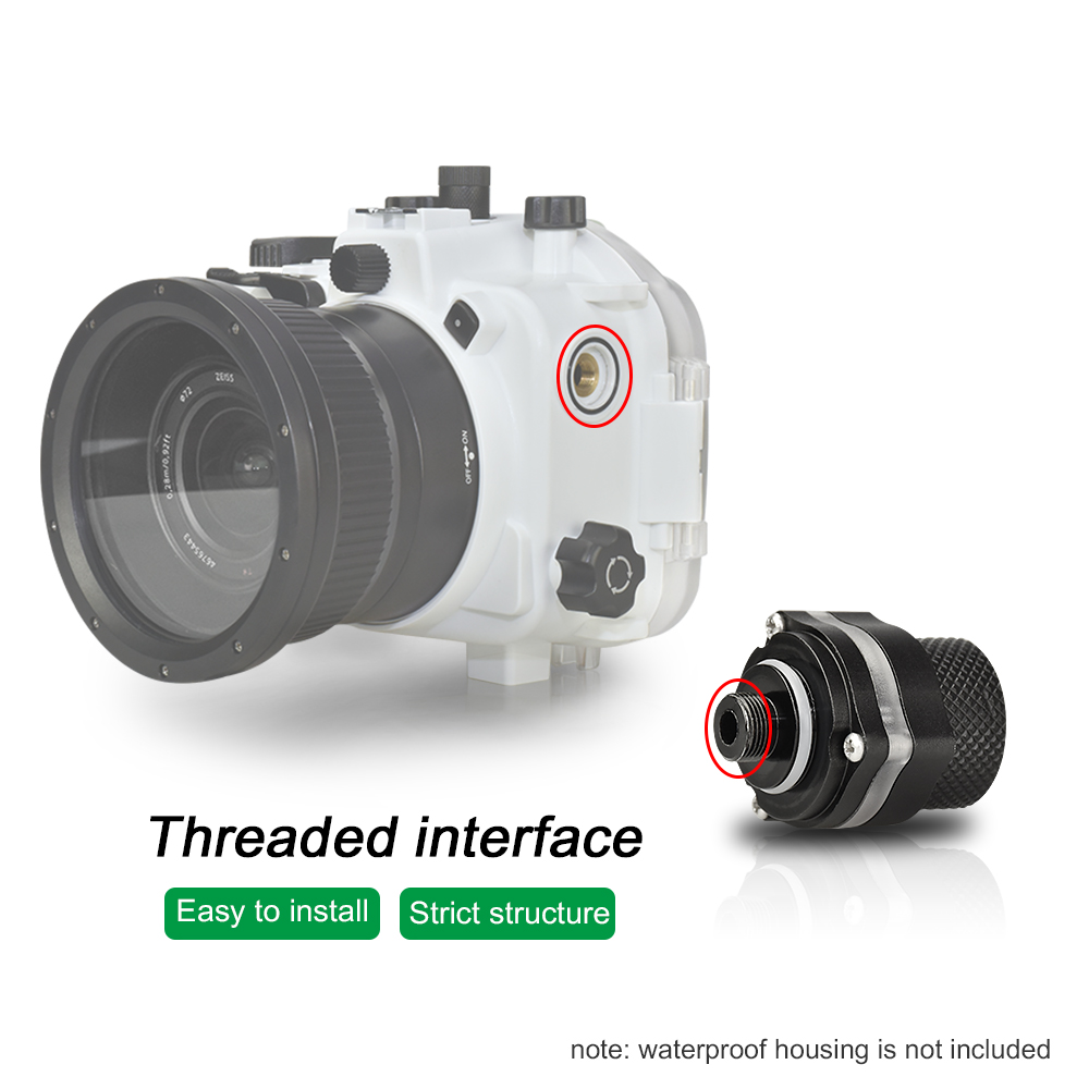 Meikon vp-100 vacuum inspection device waterproof case vacuum pump system for Diving equipment