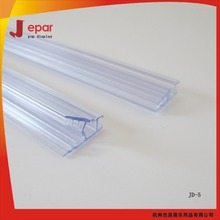 New design shopping mall pos ceiling plastic poster holder