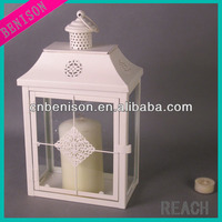2014 hot selling cheap vintage table standing metal candle holders