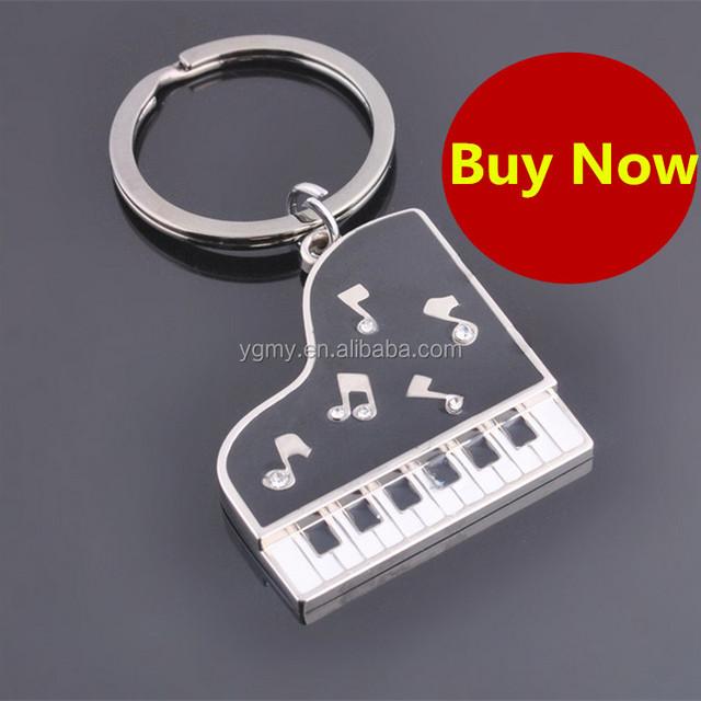 Piano Shape Keychain