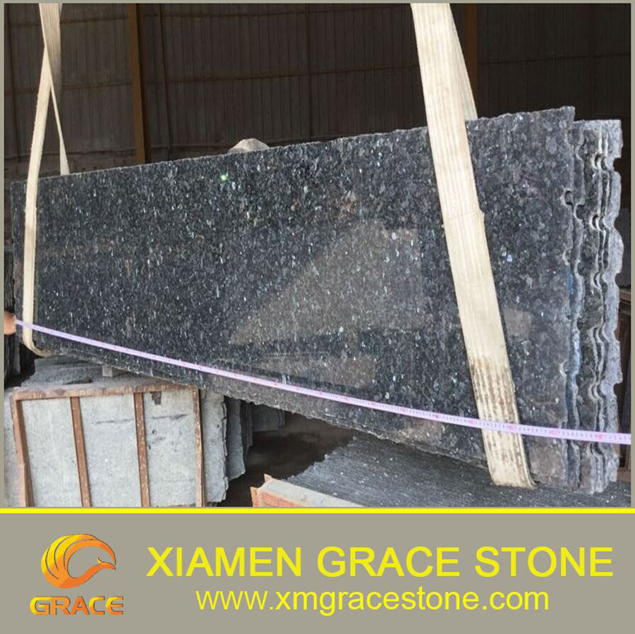 Best Selling High Polished Blue Pearl Granite Price