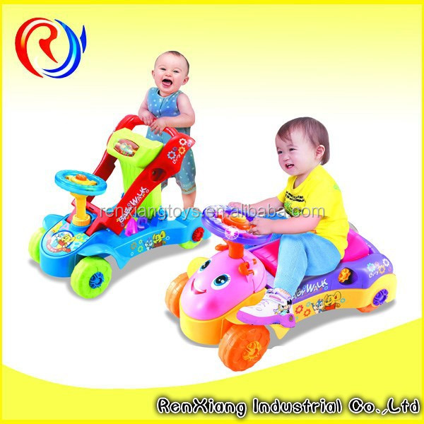 New multi-functional electric pusher baby walker wholesale