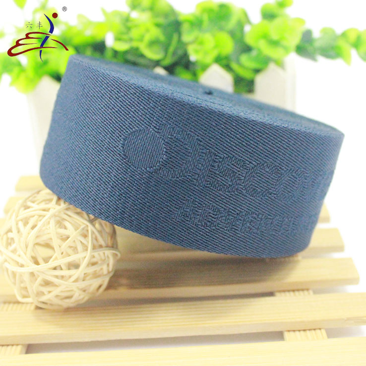 Garment Accessory Heavy Duty Strap Embossed Nylon Elastic Webbing