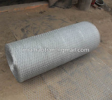 iron wire woven triple torsion galvanized wire mesh 0.5m H width roll hexagonal hole shape chicken wire fencing