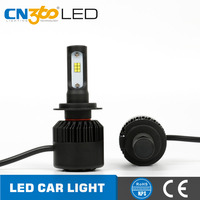 High power 50w car h7 led headlight bulb with latest CSP chips