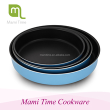 On-time shipment Product quality protection Teflon Platinum non-stick aluminum Round Pie Plate-Pizza pan for bakeware