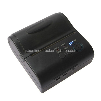 Mini Receipt Wireless Bluetooth Printer 80MM Portable Mobile Thermal Printer