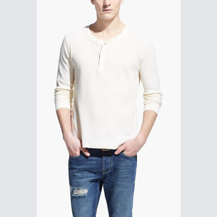 slim fit knitted men long sleeve sweaters