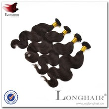 Trendy Export Quality Natural Body Wave Virgin Brazilian 5a Hair Extension
